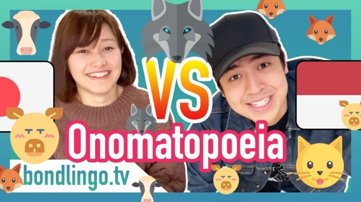 Onomatopoeia – Differences Of Animal Sounds Between Indonesian And Japanese (ft. Nihongo mantappu)