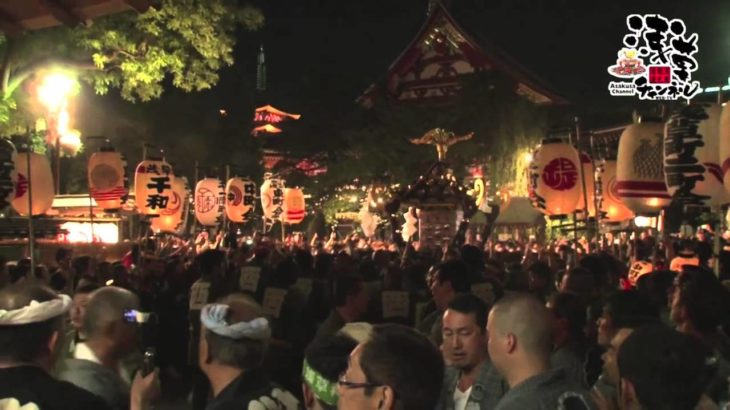 Asakusa Japan Sightseeing Tour Sanja Miyairi