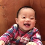 Engel Smile of Japanese Baby