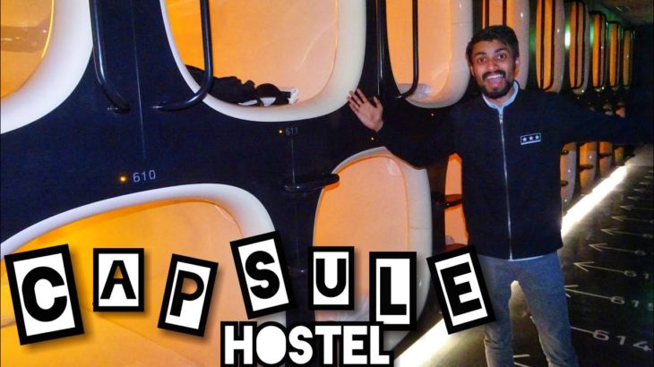 KYOTO, JAPAN CAPSULE HOSTEL TOUR : How Japanese People Sign?