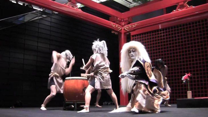 羽田国際線ターミナルイベント歌舞伎 Kabuki Haneda Miyabiya Iyemon