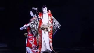 La Belle et la Bête, version kabuki (happy end)