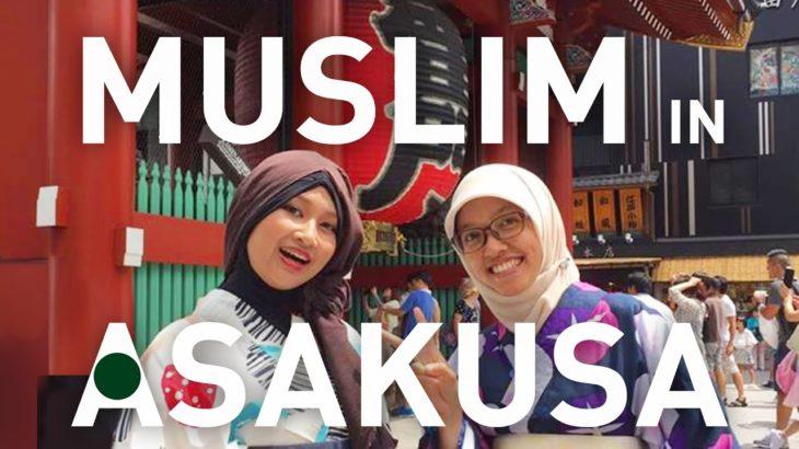 Muslim-friendly Sight-Seeing Spot, Asakusa