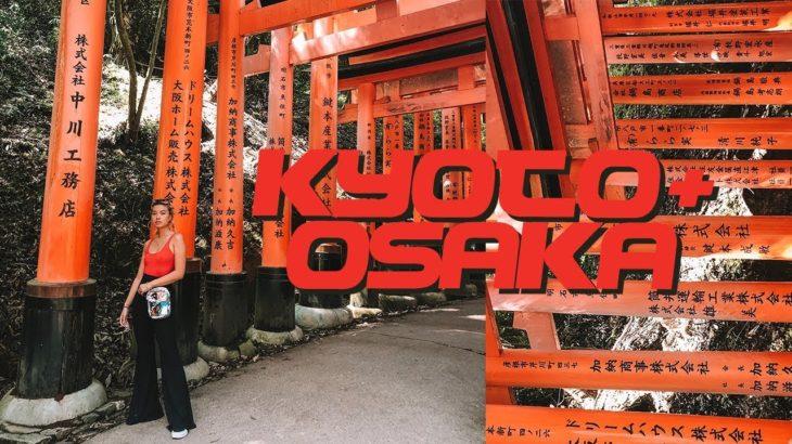 Shopping, Eating, Sightseeing in KYOTO + OSAKA   Travel Vlog