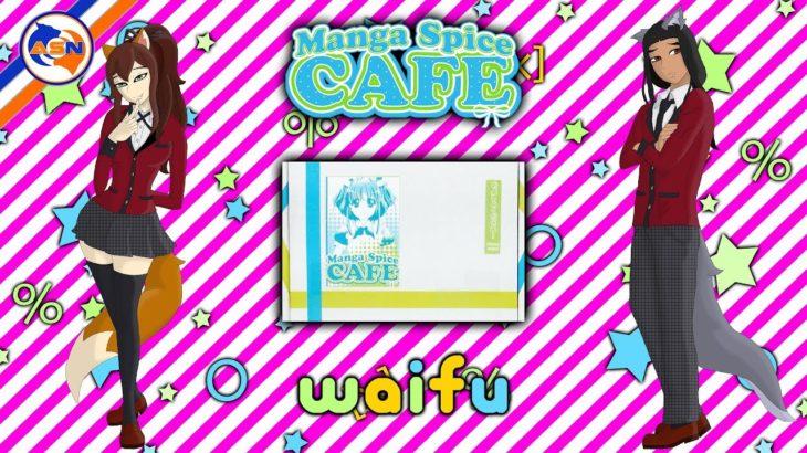 """""""Waifu!"""" Manga Spice Cafe Review ( Monthly Anime Manga & Japanese Snack Box) 2019"""