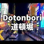 【4K】【大阪】【Osaka Sightseeing】Walking Osaka,Japan Dotonbori by Night【Time Lapse】【iPhoneX撮影】〜難波、道頓堀〜