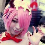 『Anime Japan 2019』 アニメジャパン あれっ⁉ 『あやりん』じゃないですか…w🐸? いや、この日はCosplayer の 雨音あやり さんです!!w