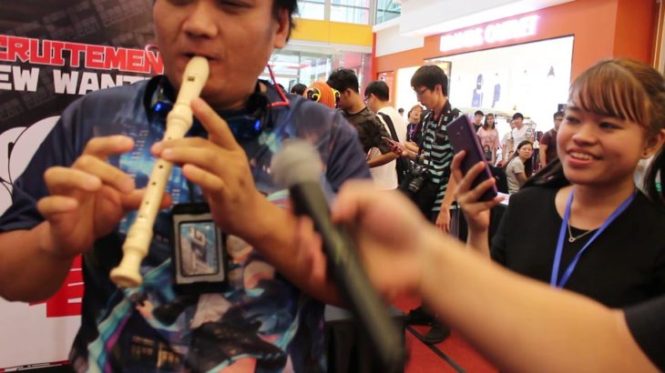 Flute guy solo,  japan anime song.