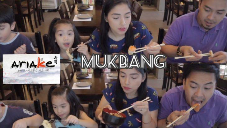 JAPANESE FOOD MUKBANG (Ariake)   Mitch & the Durans