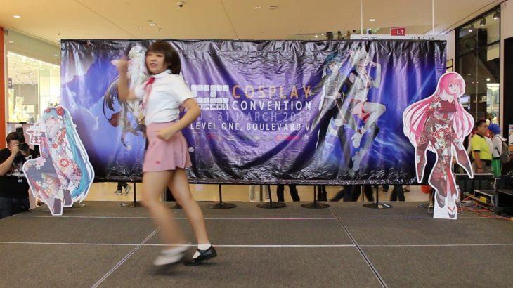 Japan anime dance.