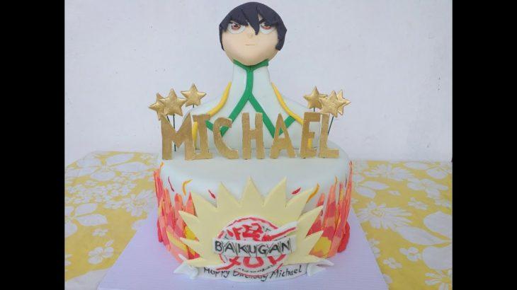 Japanese Anime Cake Decorating