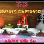 茶碗  Japanese Bowl Ciotole giapponesi anime anni 80