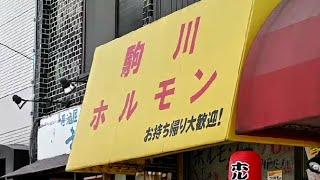 Japanese Street Food Grilled Offal Osaka【東住吉】【駒川中野】「駒川ホルモン 駒川本店 」一串70円~のホルモン他のメニューが、価格からは信じられない旨さです