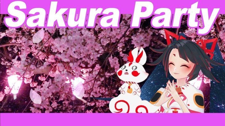 【Japanese culture】Sakura Party – 花見【Hanami】