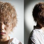 【anime hair】Japanese blonde hairstyles