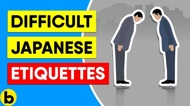 11 Japanese Etiquette Rules Westerners Won't Understand