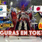 Buscando Figuras de Caballeros del Zodiaco en Japon | Anime Japan 2019 | Ares Bandai