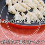 【GYOZA】【original】ヘルシー餃子【Japanese Food】