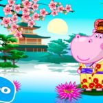 Hippo 🌼 Japanese party 🌼 Sushi cooking 🌼 Cartoon game for kids