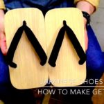 """Japanese culture"" How to make a geta strap. 下駄の鼻緒のすげ方 making japanese gete"