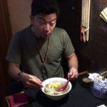 ラーメン【南米】アルゼンチン・ブエノスアイレス・日本食屋『風来坊』ラーメンJapanese food,Furaibo Japanese restaurant,Buenos Aires city