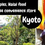 Kyoto Souveniers, Japanese convenience store and halal food