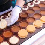 OBANYAKI | Red Bean Cream Pancake | Imagawayaki Cake | Japanese Street Food | Kyoto Japan