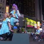 TWO JAPANESE GIRLS IN COSPLAY MANGA ANIME COMIC BOOK COSTUMES DO A PHOTOSHOOT BY MTV STUDIOUS