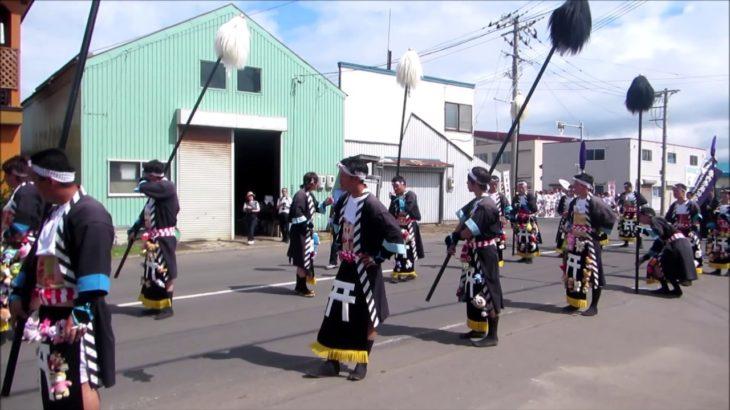 japanese festival iwanai zinzya matsuri (japanese culture)(岩内神社祭り)(ノーナレ、ノーBGM)