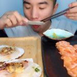 ASMR sushi 2019   Chinese food   Japanese   pasta   noodles   dessert   cake
