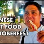 JAPANESE STREET FOOD + OKTOBERFEST | Jay and Jhan in Japan