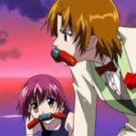 Japanese anime girl wrestling アニメ キャットファイト