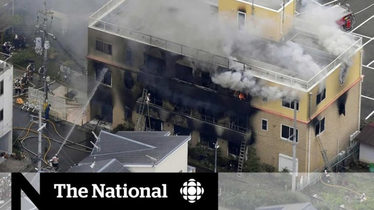 At least 33 dead in suspected arson at Japan animation studio