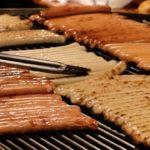 BIG Sausages  | Japanese Street Food | Osaka Japan