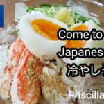 Come to Japan    Japanese food   冷やしうどん