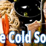 Eating  Cold Zaru Soba in Chiang mai – Affordable Japanese food – ep25