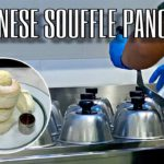 Fluffy Japanese Souffle Pancakes スフレパンケーキ / Gram Japanese Cafe in Singapore