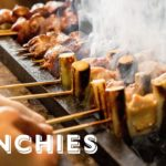 Grilling Yakitori Over Japanese Charcoal – Open Fire