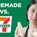 Homemade Vs. 7-Eleven: Japanese Egg Salad Sandwich •Tasty