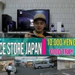 JAPANESE Convenience Store:10,000 yen Challenge! How Much Food You Can Buy?
