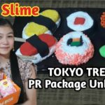 JAPANESE FOOD SLIME | Ft. Tokyo Treat Japanese Candy & Snack (DIY SLIME PHILIPPINES) Sushi Slime