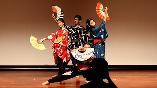★JCN2017 Japanese Cultural Night – NUS Nihon Buyo – Japanese Dance – Senbonzakura 1of4 [HD]