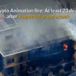 Japan Anime studio arson attack kills 33