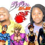 Japanese Anime Music Reaction   JoJo's Bizarre Opening 10 Vs 10.5  