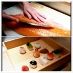 Japanese Food  – フィッシュカットスキル FISH CUTTING SKILLS Salmon, Mackerel, Squid Sushi Kyoto Seafood Japan
