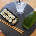 Japanese Food Taste Test – Avocado Maki & Matcha Gin and Tonic – Food & Drink