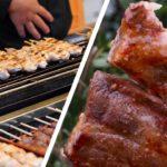 Japanese Street Food | Best Chicken Yakitori, Takoyaki and More at a Tokyo Festival!