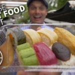 Japanese Street Food Market w/ Vegan Sushi ★ ONLY in JAPAN