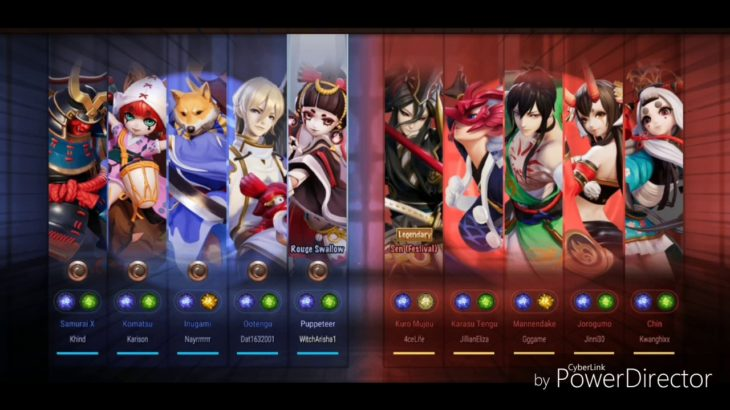 Japanese inspired MOBA. Anime based, flashy graphics. Come and try Onmyoji Arena.  #OnmyojiArena