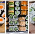 My sushi | Vegetable sushi | Annie | chef journey | #japanesefood #sushi #food #lover